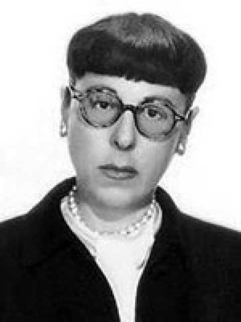 Portrait Edith Head