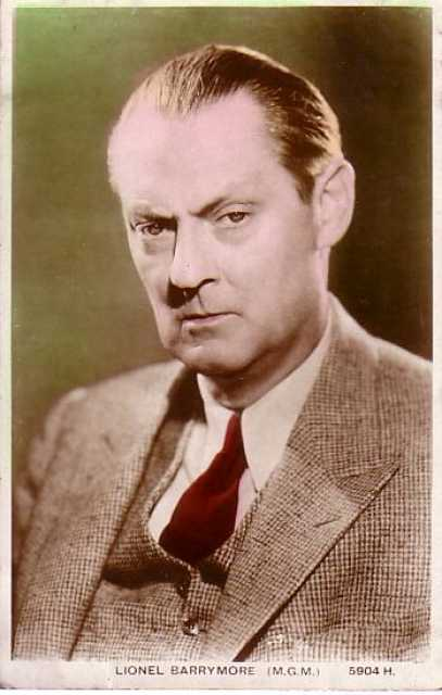 Portrait Lionel Barrymore