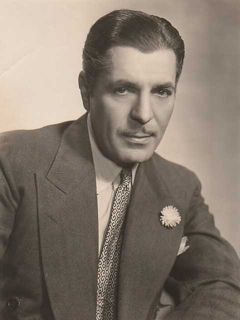 Portrait Warner Baxter