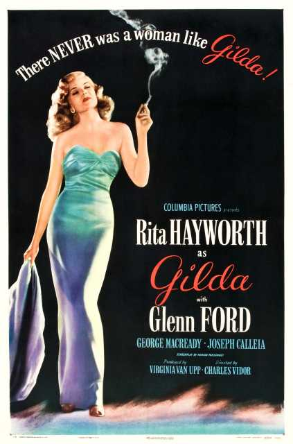 Foto Gilda ©  Columbia Pictures Corporation / arte - Stills Photographer's name not on file